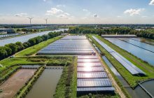 Allied Waters partner Waternet opens solar park in Nieuwegein