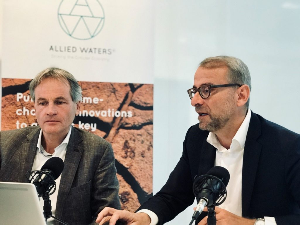 Jos Boere (Allied Waters, left) Stephan Corvers (Corvers Procurement, right)
